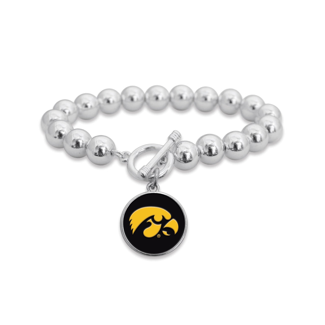 Iowa Hawkeyes Society Bracelet