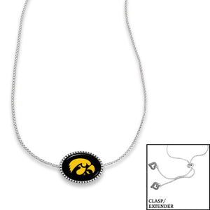 Iowa Hawkeyes Adjustable Slider Bead Necklace