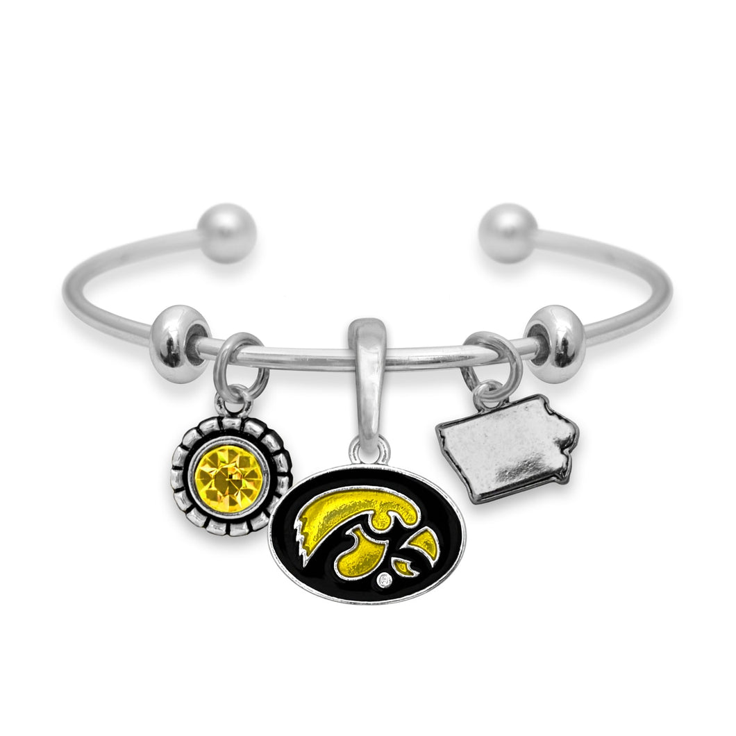 Iowa Hawkeyes Home Sweet School Bracelet
