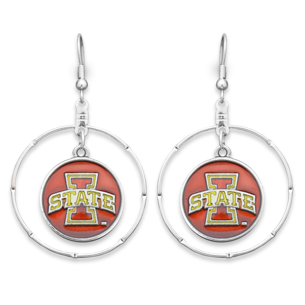 Iowa State Cyclones Campus Chic Earrings