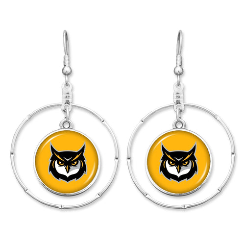 Kennesaw State Owls Campus Chic Earrings