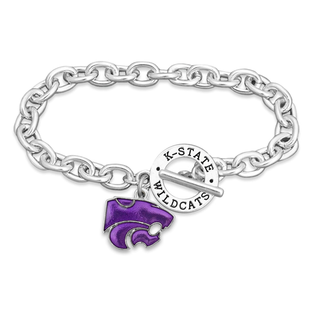Kansas State Wildcats Bracelet- Audrey Toggle