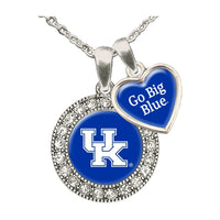 Kentucky Wildcats Spirit Slogan Necklace