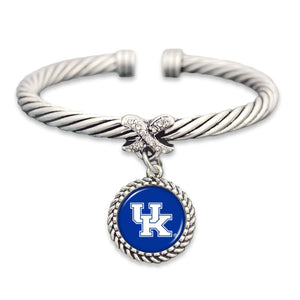 Kentucky Wildcats Bangle Cuff Bracelet