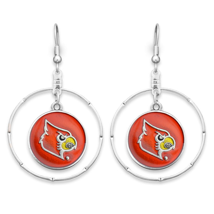 Louisville Cardinals Campus Chic Earrings