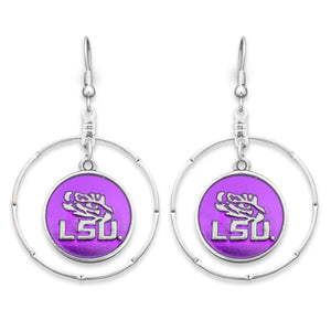 LSU Tigers Campus Chic Earrings