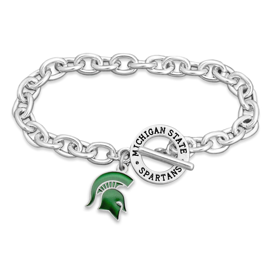 Michigan State Spartans Bracelet- Audrey Toggle