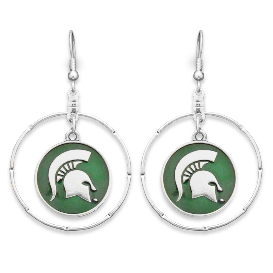 Michigan State Spartans Campus Chic Earrings
