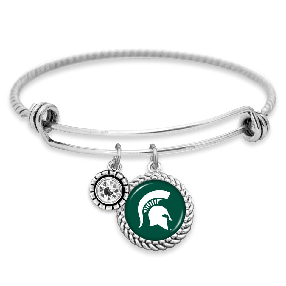 Michigan State Spartans Olivia Bracelet
