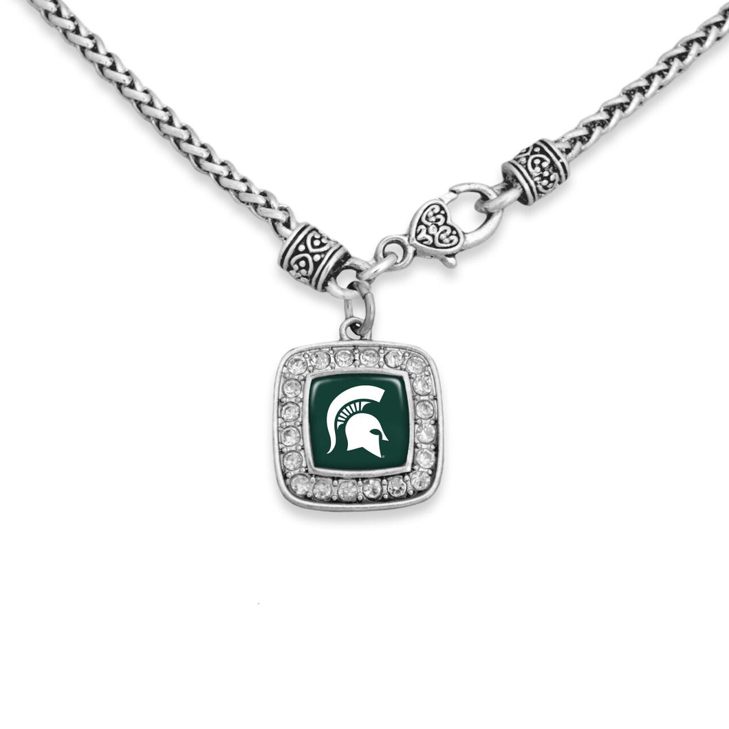 Michigan State Spartans Kassi Necklace