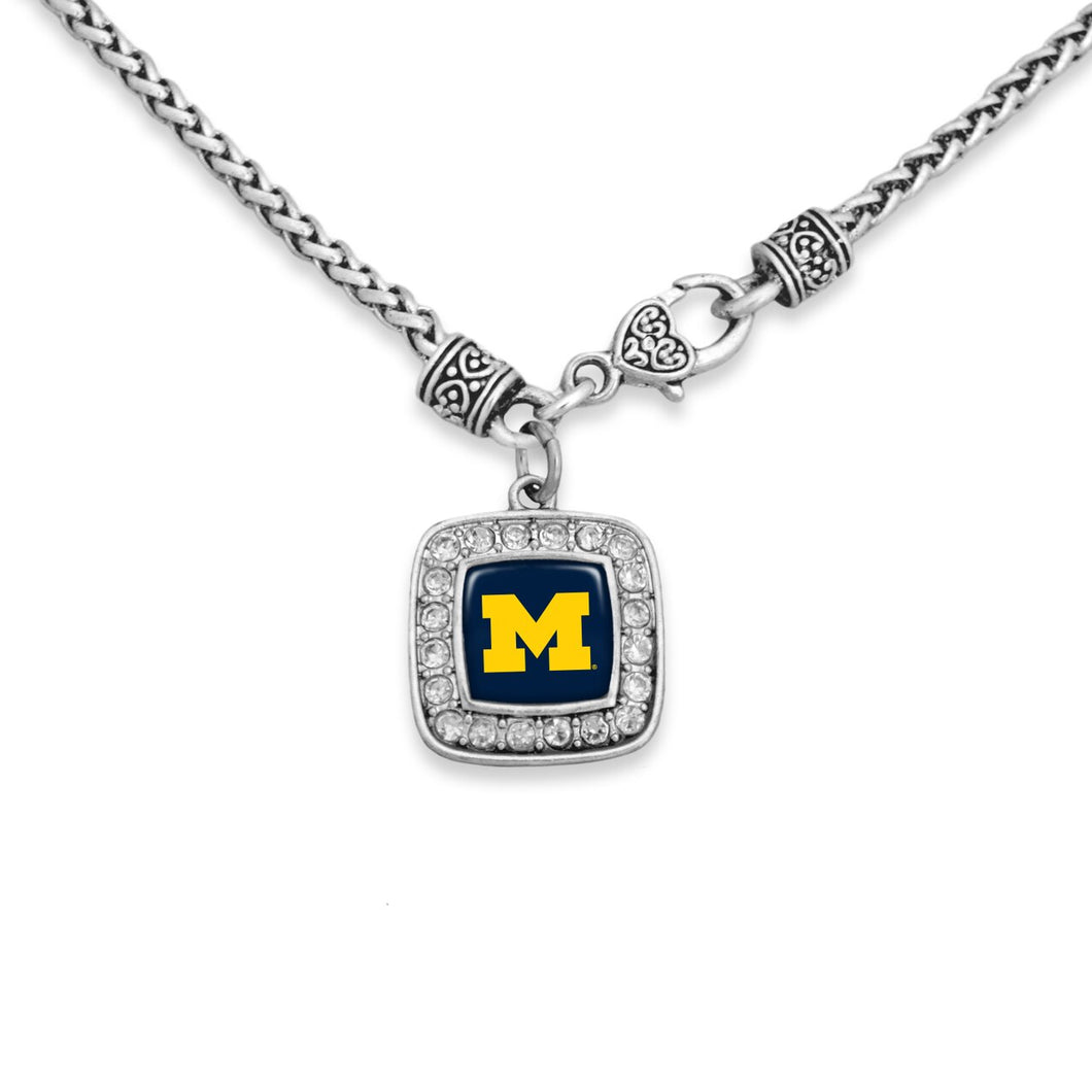 Michigan Wolverines Kassi Necklace