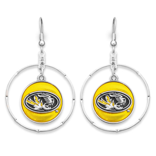 Missouri Tigers Campus Chic Earrings