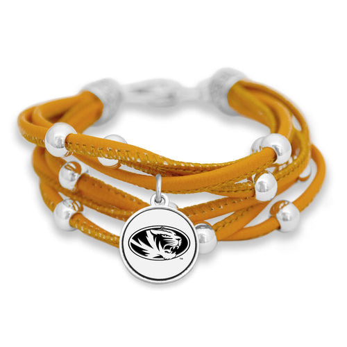 Missouri Tigers Lindy Bracelet