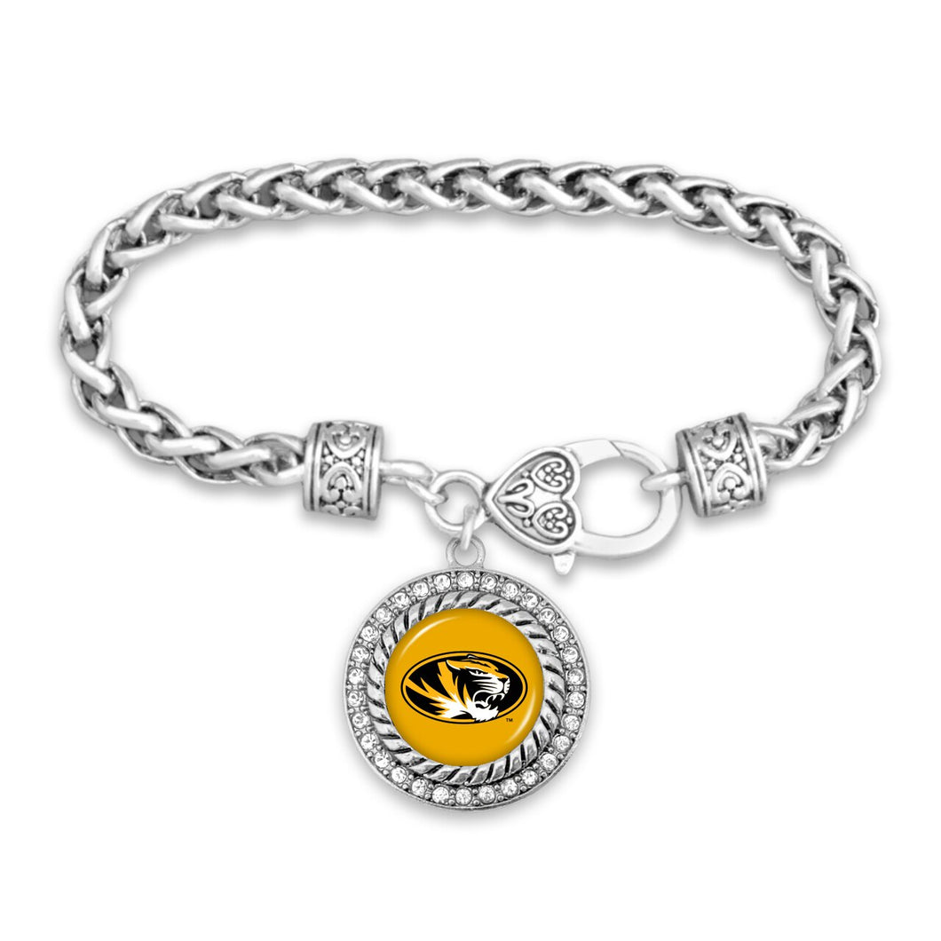 Missouri Tigers Bracelet- Allie