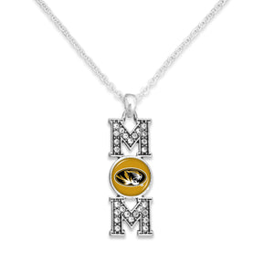 Missouri Tigers MOM Necklace