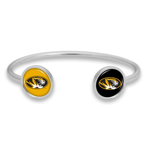Missouri Tigers Duo Dome Cuff Bracelet