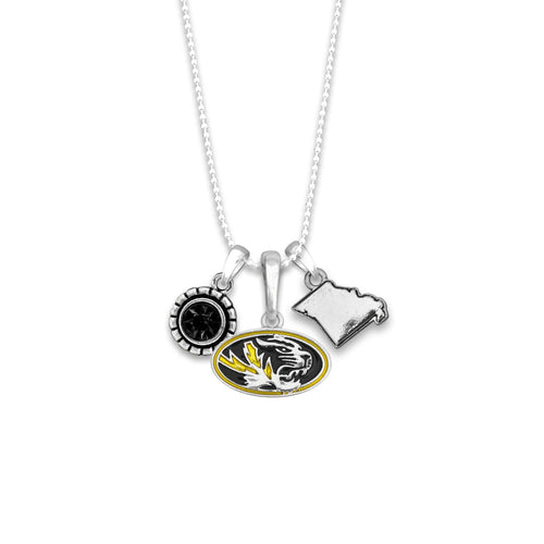 Missouri Tigers Home Sweet School Necklace