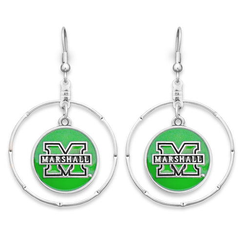 Marshall Thundering Herd Campus Chic Earrings