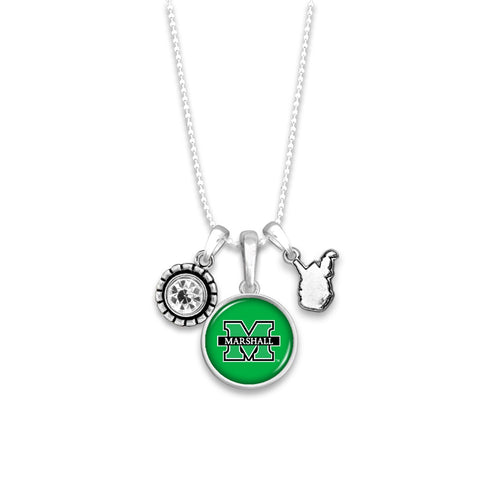 Marshall Thundering Herd Home Sweet School Necklace