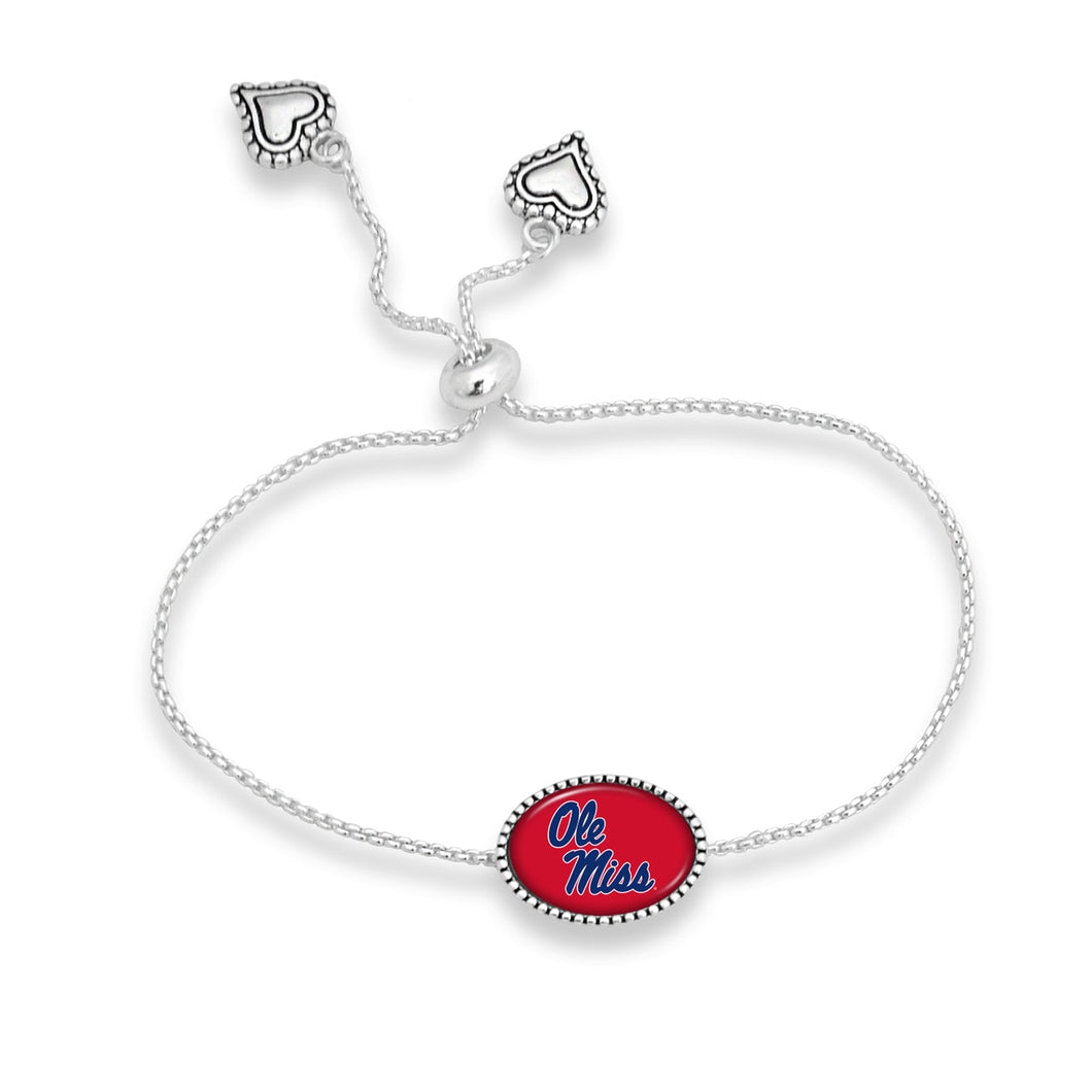 Ole Miss Rebels Kennedy Bracelet