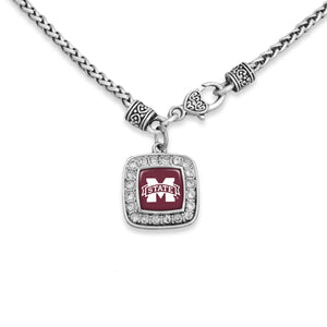 Mississippi State Bulldogs Kassi Necklace