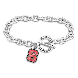 NC State Wolfpack Bracelet- Audrey Toggle