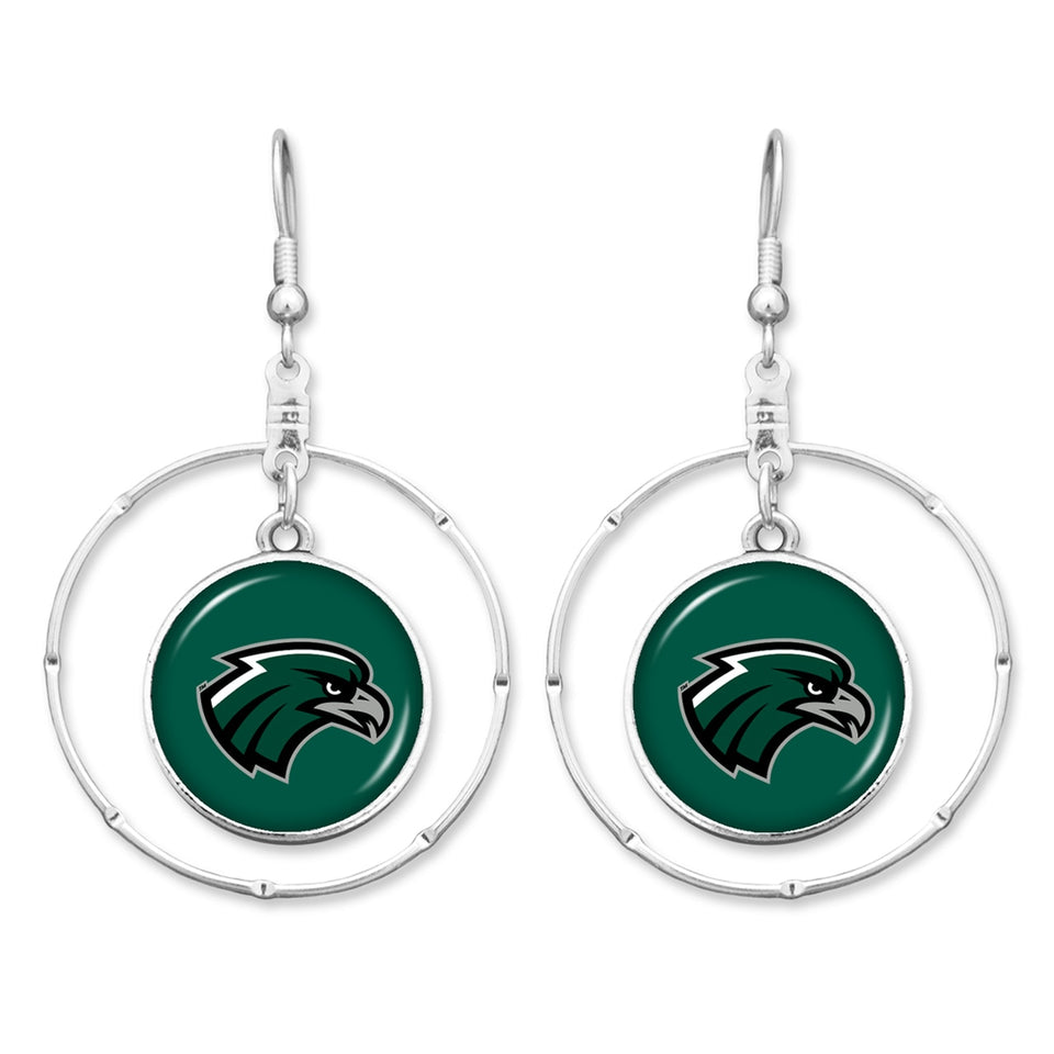 Northeastern State Riverhawks Campus Chic Earrings