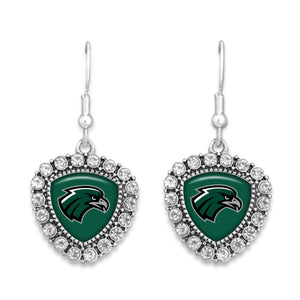 Northeastern State Riverhawks Brooke Crystal Earrings