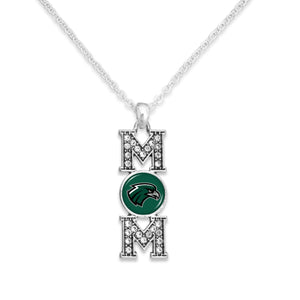 Northeastern State Riverhawks MOM Necklace