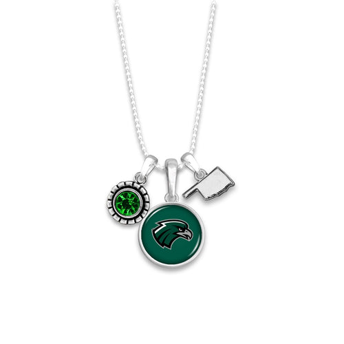 Northeastern State Riverhawks Home Sweet School Necklace