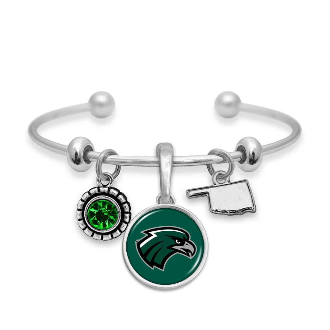 Northeastern State Riverhawks Home Sweet School Bracelet