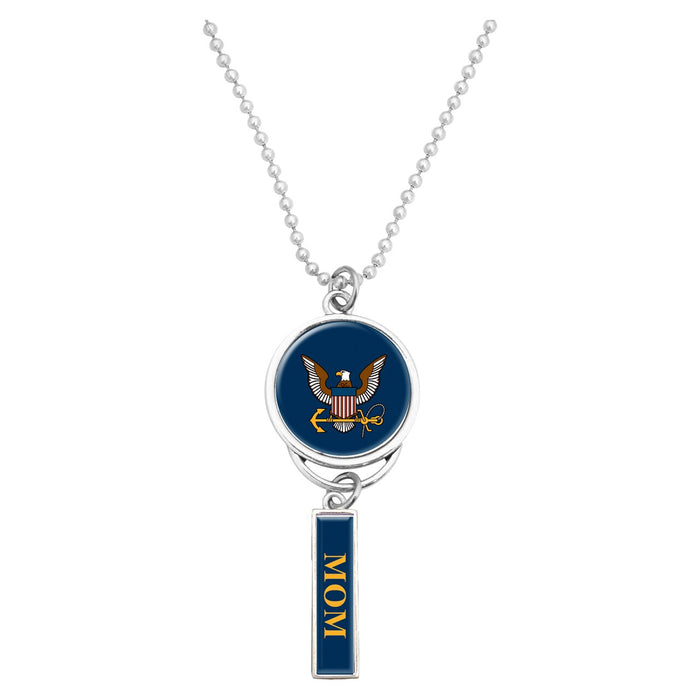U.S. Navy Logo Car Charm for Mom