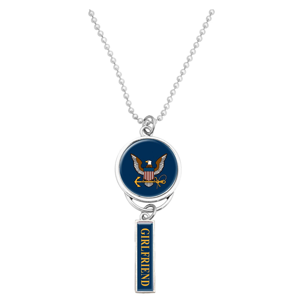 U.S. Navy Logo Car Charm for Girlfriend