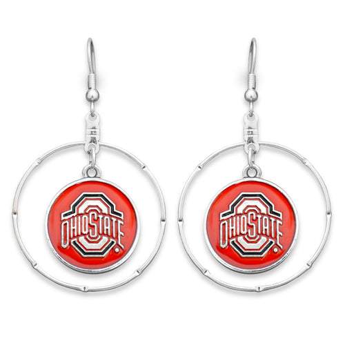 Ohio State Buckeyes Campus Chic Earrings