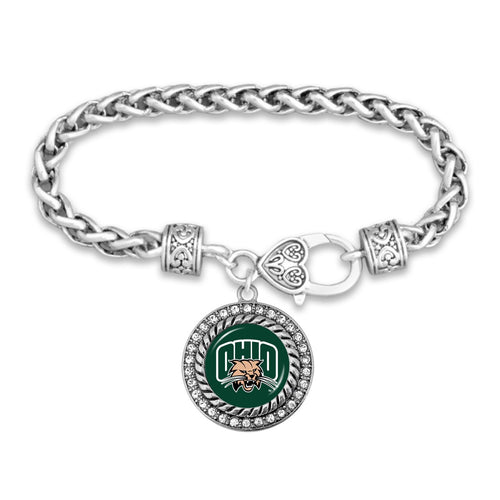 Ohio Bobcats Bracelet- Allie