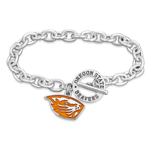 Oregon State Beavers Bracelet- Audrey Toggle