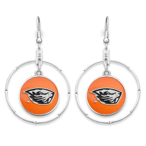Oregon State Beavers Campus Chic Earrings