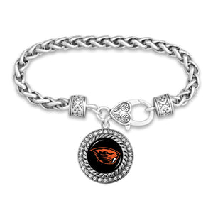 Oregon State Beavers Bracelet- Allie