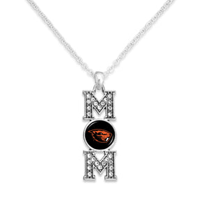 Oregon State Beavers MOM Necklace