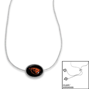 Oregon State Beavers Adjustable Slider Bead Necklace