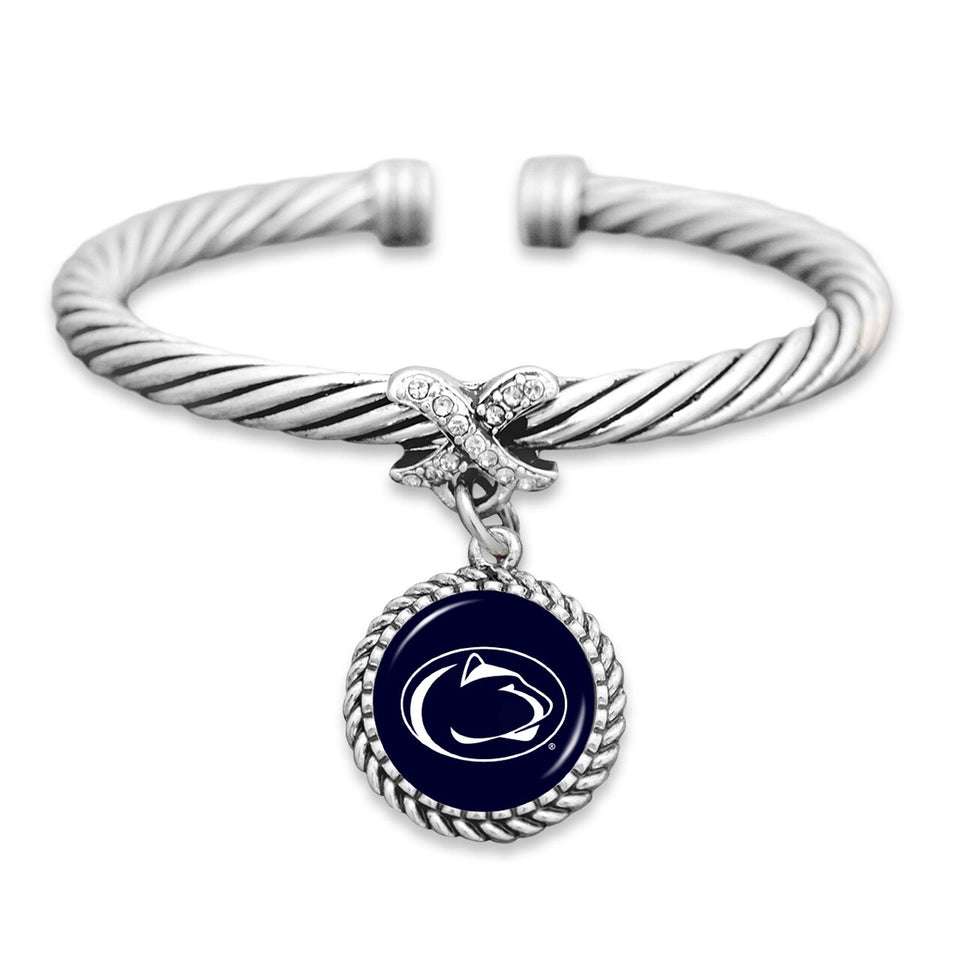 Penn State Nittany Lions Bangle Cuff Bracelet