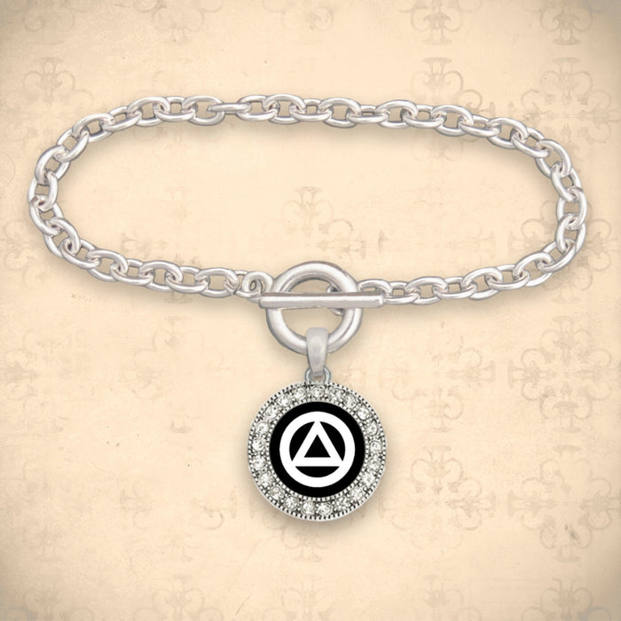 Alcoholics Anonymous Recovery Bracelet