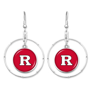 Rutgers Scarlet Knights Campus Chic Earrings