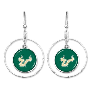 South Florida Bulls Campus Chic Earrings