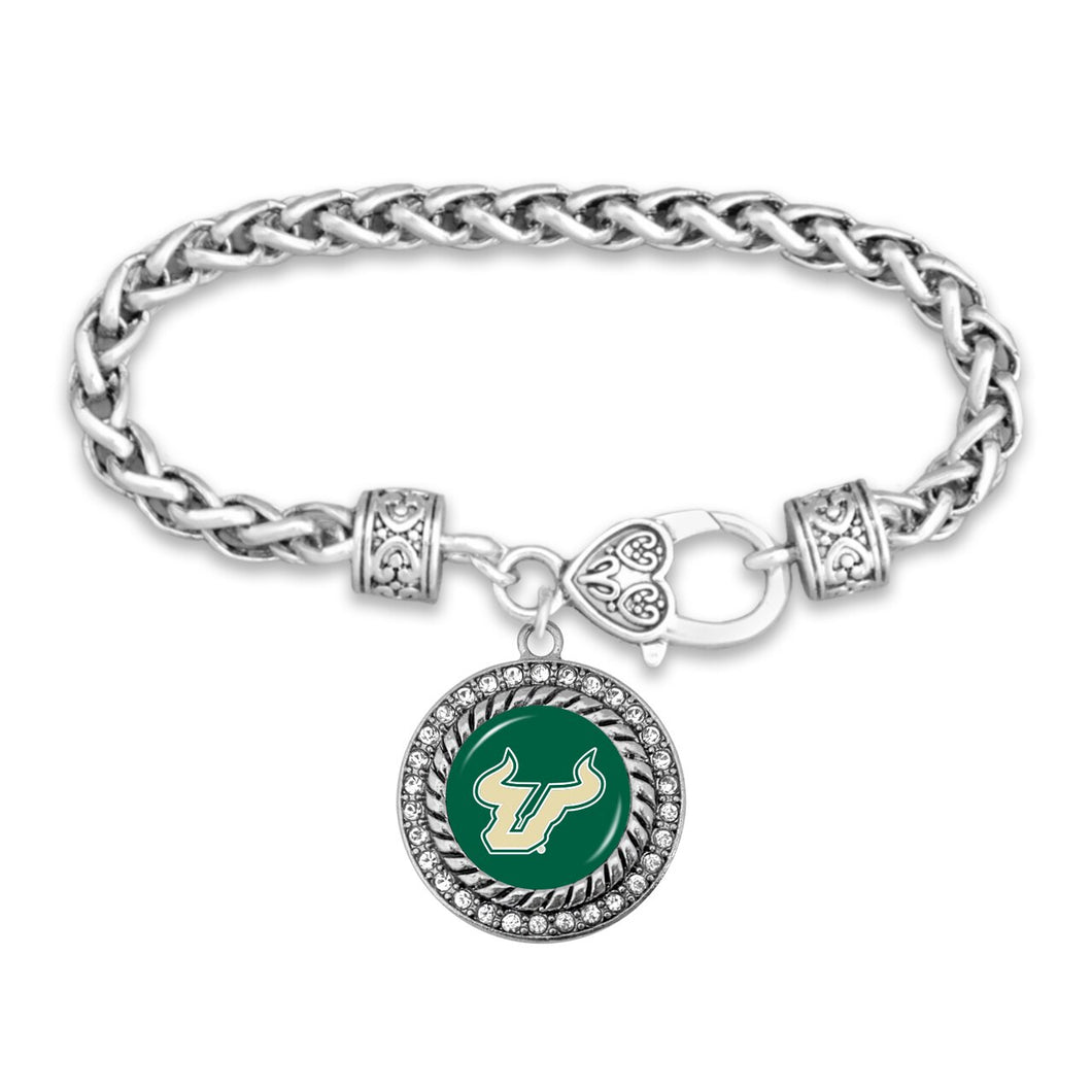 South Florida Bulls Bracelet- Allie