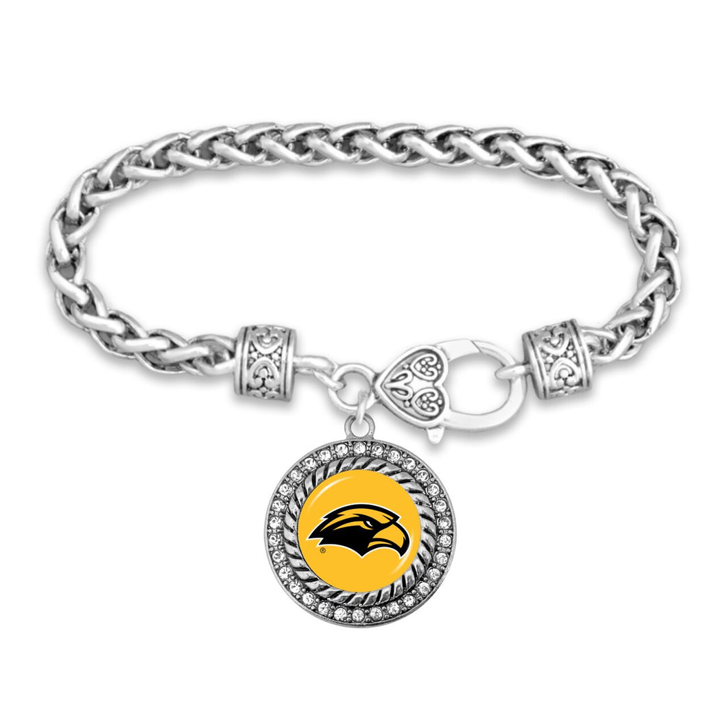 Southern Mississippi Golden Eagles Bracelet- Allie