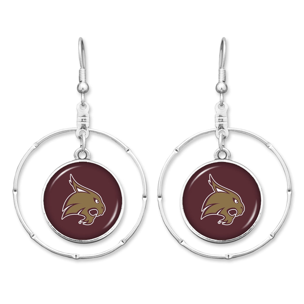 Texas State Bobcats Campus Chic Earrings
