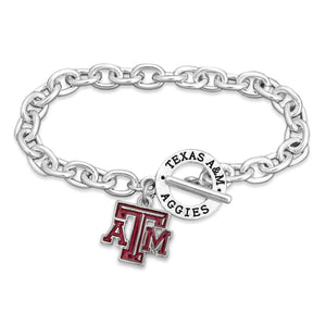 Texas A&M Aggies Bracelet- Audrey Toggle