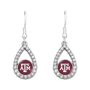 Texas A&M Aggies Hoop Earrings- Haley