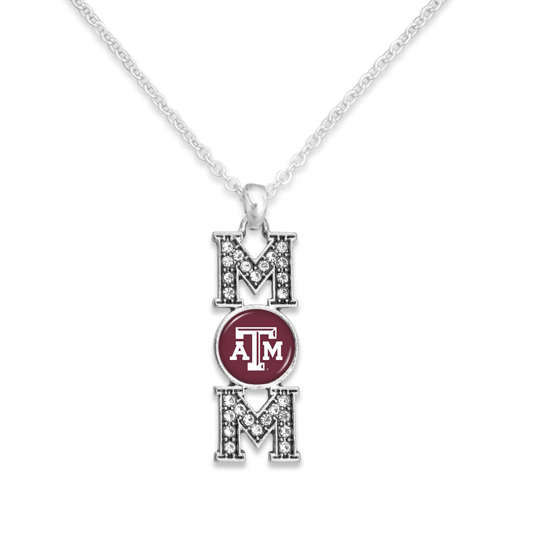 Texas A&M Aggies MOM Necklace